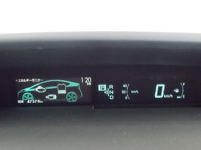 トヨタ プリウス Sツーリングセレクション SDワンセグナビ ETC アルミ付