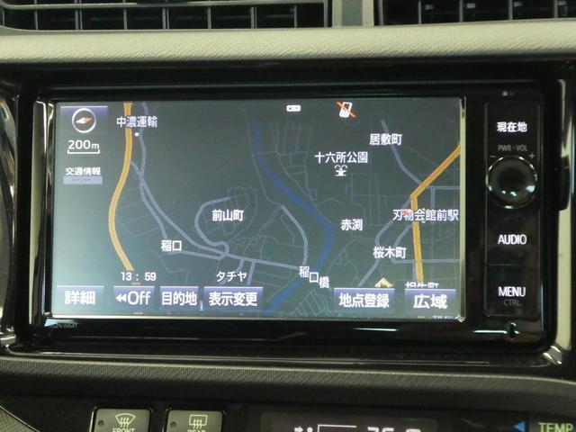 トヨタ アクア G's メモリーナビ ドライブレコーダー LED 17アルミ