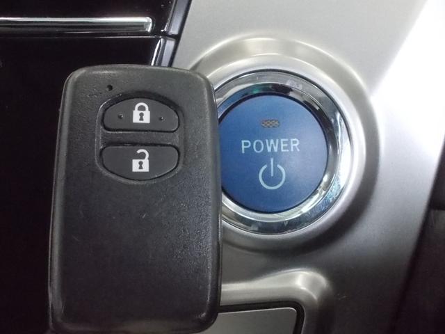 スマートキーですからキーを取り出さなくても、開錠・施錠・エンジンスタートもOK