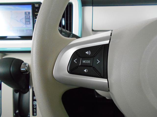 運転中ハンドルでカーオーディオの操作ができます。一部対応していないステレオがありますので、スタッフまでご確認下さい。