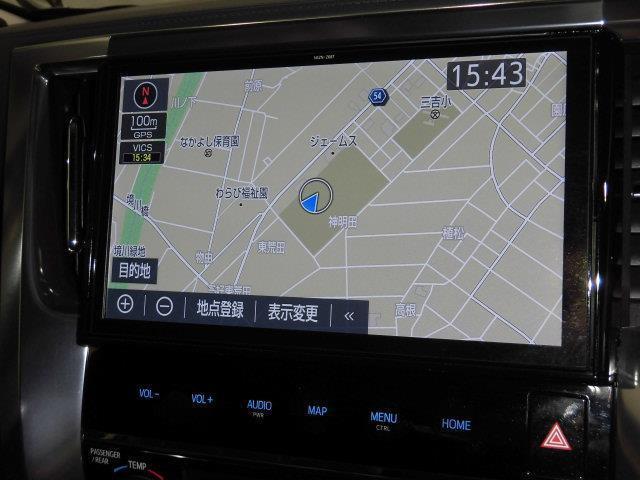 SR Cパッケージ 革シート サンルーフ 4WD フルセグ メモリーナビ DVD再生 ミュージックプレイヤー接続可 後席モニター バックカメラ 衝突被害軽減システム ETC 両側電動スライド LEDヘッドランプ(9枚目)