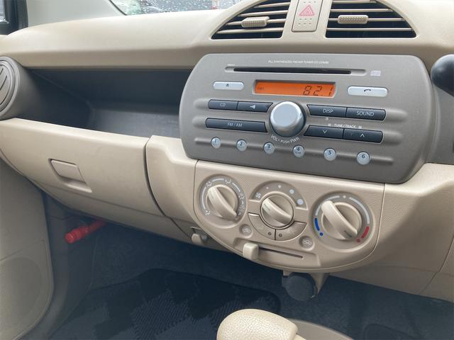 F グー鑑定車 無料保証1ヶ月走行無制限付 盗難防止 A/C CDプレーヤー キーレス付き パワーウインドウ(12枚目)