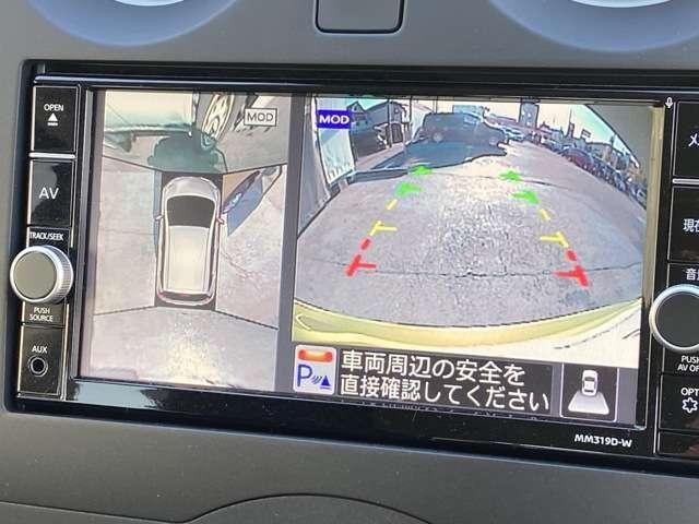 X アラウンドビューモニター 踏み間違い防止 エマージェンシーブレーキ コーナーセンサー ハイビームアシスト インテリジェントルームミラー ステアリングスイッチ アイドリングストップ(8枚目)