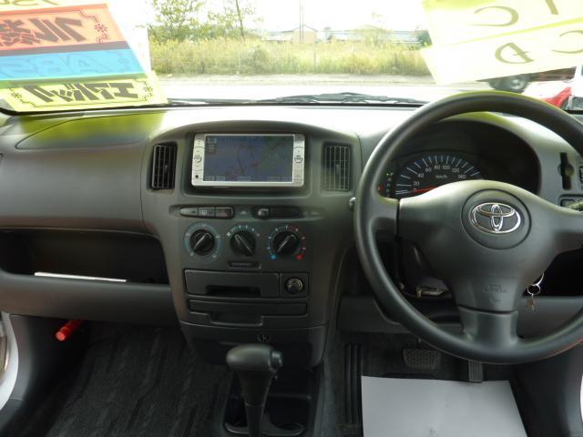 トヨタ サクシードバン U メモリーナビ ワンセグ ETC CD キーレス