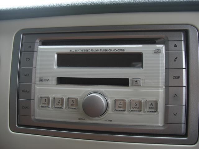 スズキ アルトラパン X 保証付 CD・MDデッキ キーレス