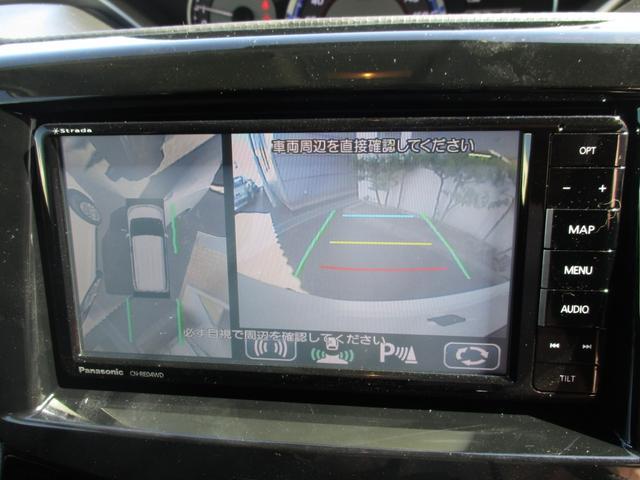 ハイブリッドXS 全方位カメラ ナビ ETC サイドバイザ(7枚目)