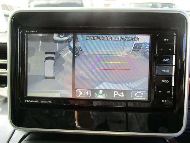 ハイブリッドXZ ターボ ナビ フルセグ ETC 全方位モニター 両側電動スライド スマートキー ターボ 運転席・助手席シートヒーター マイナーチェンジ後モデル(17枚目)