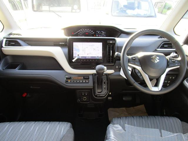 ハイブリッドMZ メーカー純正9インチナビ フルセグTV 全方位カメラ ETC車載器 ドラレコ 両側電動パワースライドドア ヘッドアップディスプレイ スズキセーフティーサポート 新車メーカー保証(4枚目)
