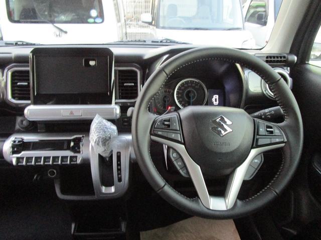 ハイブリッドMZ ナビ TV フルセグ ETC ドラレコ 全方位カメラ スズキセーフティーサポート 運転席助手席シートヒーター LEDヘッドライト 16インチアルミ クルコン 新色 ブラックインテリア(5枚目)