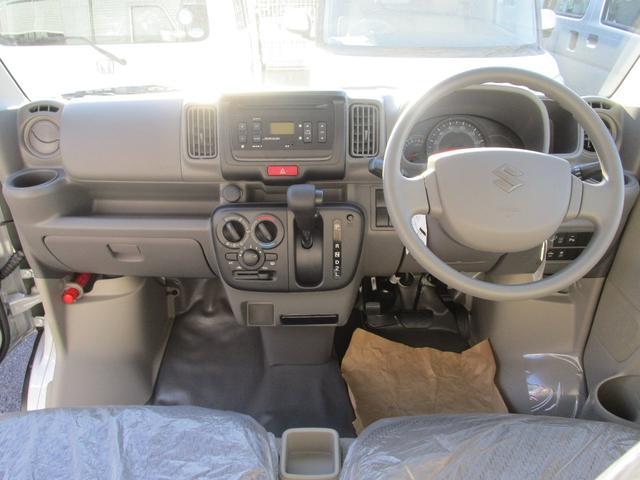 PCリミテッド パワステ エアコン 純正CD キーレスエントリー スズキセーフティーサポート 新車メーカー保証(4枚目)