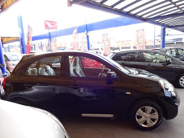 日産 マーチ S 未使用車 新車保証継承
