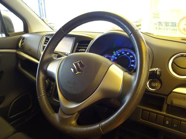 スズキ ワゴンRスティングレー X ワンオーナー ナビTV HID インテリアコーティング