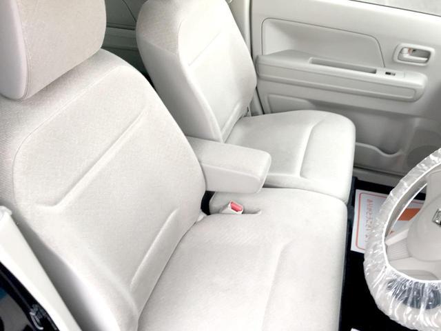 ハイブリッドFX アイストップ キーレススタート 前席シートヒーター ベンチシート 衝突安全ボディ イモビライザー オートエアコン エアバック ABS WエアB パワステ フルフラット PW(23枚目)