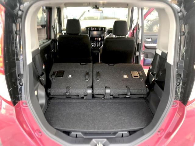 カスタムG S オートクルーズ 衝突防止 アイドリングストップ LED フルフラット スマートキー イモビライザー キーレス ウォークスルー ABS(18枚目)
