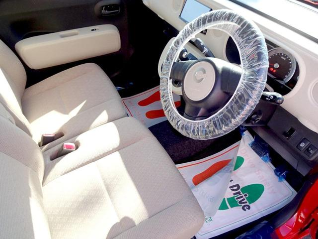 ココアX Wエアバック Iストップ リモコンキー ワンオーナー車 セキュリティー メモリナビ AUX 禁煙 電格ミラー ナビTV DVD再生 オ-トエアコン PW エアバッグ ベンチシート ABS パワステ(17枚目)