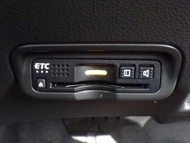★ETC搭載★ 今や快適ドライブに欠かせない必須アイテムETC!料金所をノンストップでスルーでき、手間いらずで快適です☆