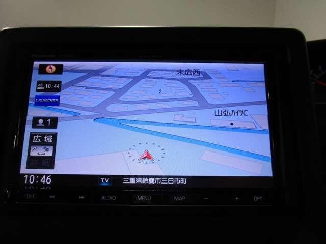 G・EXホンダセンシング 社外SDナビフルセグTV DVD再生可能 ブルートゥース バックカメラ LEDオートライト ホンダセンシング 両側電動スライドドア 社外14インチアルミホイール ETC(8枚目)