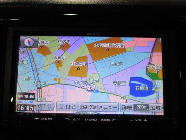 G・Aパッケージ 社外SDナビフルセグTV DVD再生可能 ブルートゥース 安心パッケージ ETC ワンオーナー バックカメラ HIDオートライト スマートキー ハーフレザー 純正14インチアルミホイール(8枚目)