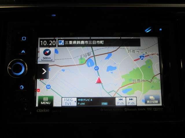 Fパッケージ 社外SDナビワンセグTV DVD再生可能 ブルートゥース バックカメラ ETC ワンオーナー LEDオートライト スマートキー(8枚目)