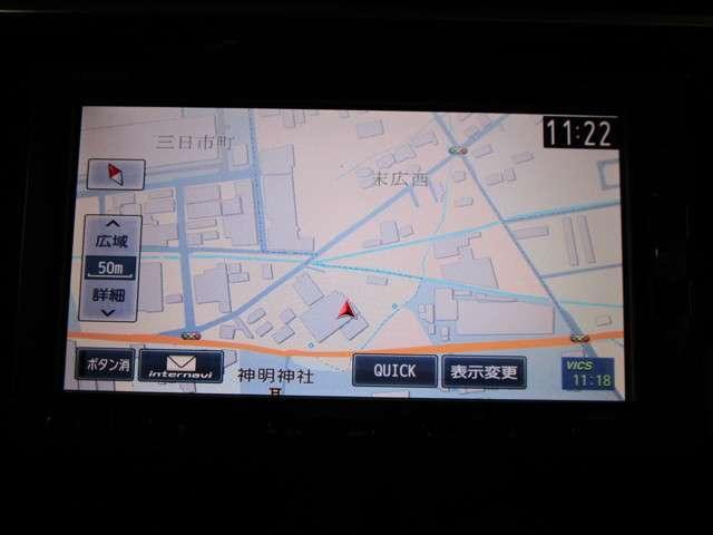 13G・Fパッケージ コンフォートエディション 純正SDナビフルセグTV DVD再生可能 ブルートゥース バックカメラ ETC ワンオーナー LEDオートライト スマートキー シートヒーター(8枚目)