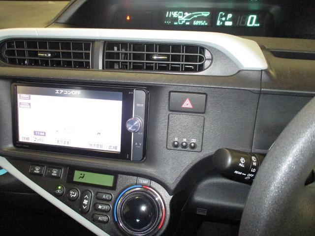 S フルセグTV付きSDナビバックモニター ETC スマートキー オートエアコン DVD再生 Bluetooth LEDヘッドライト(16枚目)