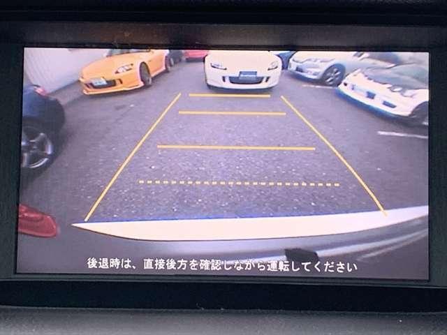 ☆バックカメラ☆駐車の際はバックモニターがサポートしてくれますので安心ですね♪