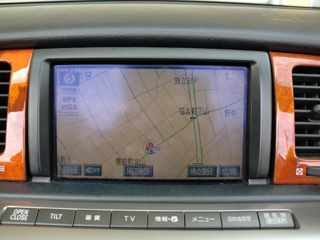 SC430 純正ナビ フルセグTV ETC 黒革 車高調(9枚目)