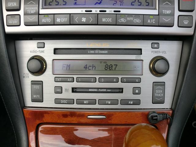 SC430 純正ナビ フルセグTV ETC 黒革 車高調(10枚目)