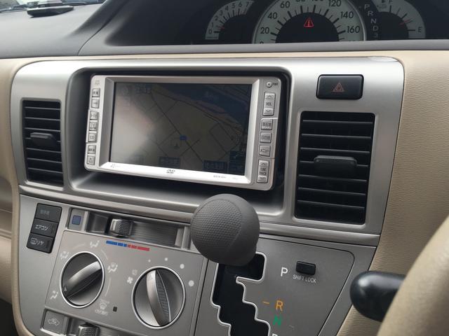 トヨタ ラウム Cパッケージ DVDナビ キーレス