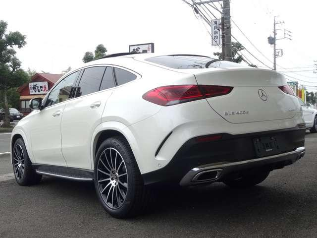 ◆2020y Mercedes-Benz GLE400d 4Matic クーペ スポーツ E-ACTIVE BODY CONTROLパッケージ/パノラミックルーフ 入庫致しました