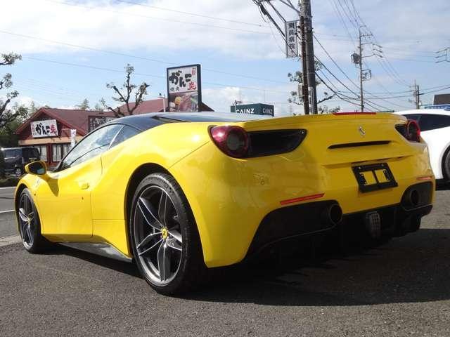◆2015y Ferrari 488GTB F1 DCT メーカーオプション9,201,000- 入庫致しました