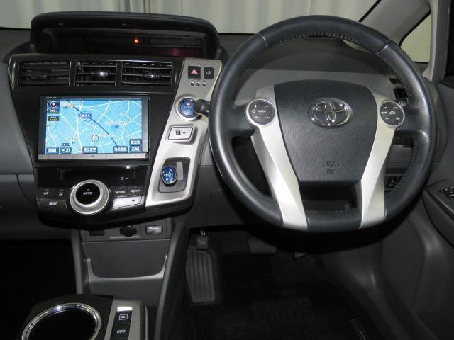 トヨタ プリウスアルファ Sツーリングセレクション フルセグHDDナビ ETC