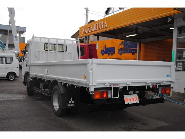 三菱ふそう キャンター ワイドロング2t平ボディー低床 荷台内寸長さ4330mm