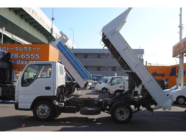いすゞ エルフトラック ダンプ2t低床 外装仕上げ済 コボレーン キーレス ETC