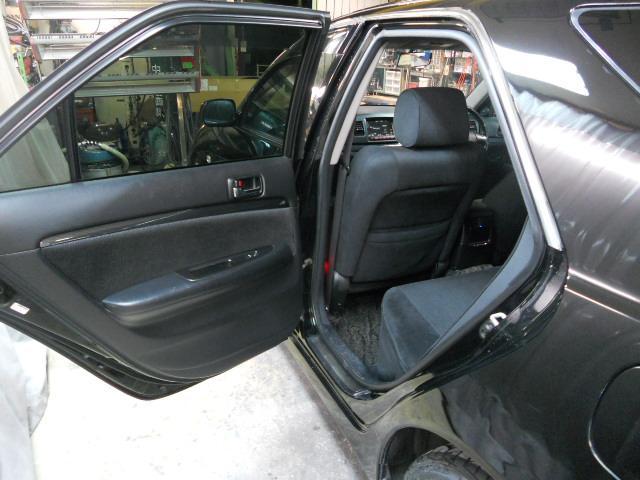 トヨタ マークIIブリット 2.0iR リミテッド19インチアルミ新品タイヤ ダウンサス