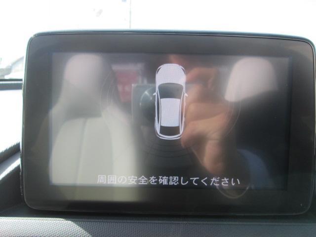 後方はコーナーセンサーが装備しており音で障害物をお知らせしてくれます。