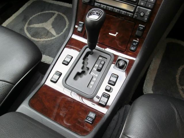 メルセデス・ベンツ M・ベンツ S320 本革シート W140最終モデル 5速オートマ