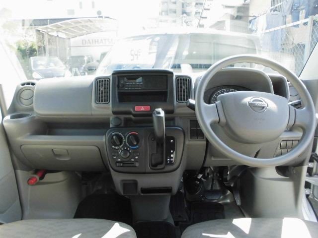 日産 NV100クリッパーバン DXWエアバック両側スライドドアハイルーフパワステエアコン
