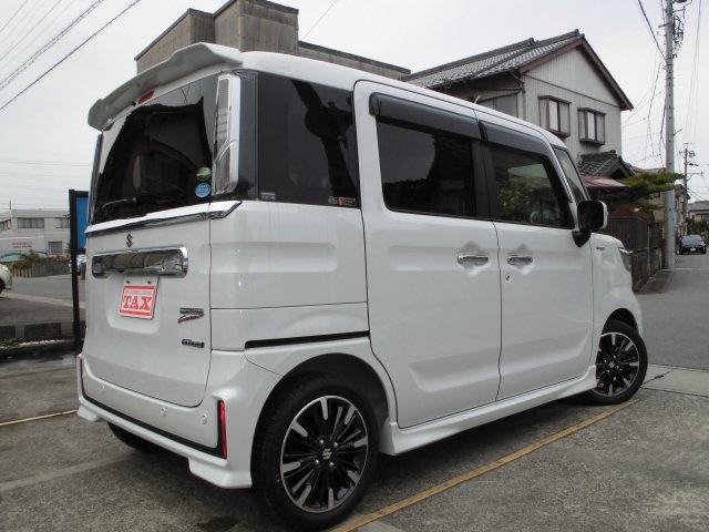 「スズキ」「スペーシアカスタム」「コンパクトカー」「愛知県」の中古車9