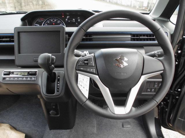 ハイブリッドFZ 届出済未使用車・デュアルブレーキサポート・スマートキー・プッシュスタート・エコクール・LEDヘッドランプ・オートライトシステム(10枚目)