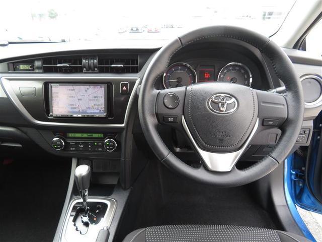 トヨタ オーリス 150X Sパッケージ HDDナビ フルセグTV