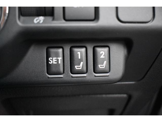 運転席には、便利なシートメモリーポジション機能を装備しております。