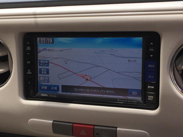 ダイハツ ミラココア ココアX 4WD ナビTV オートエアコン スマートキー