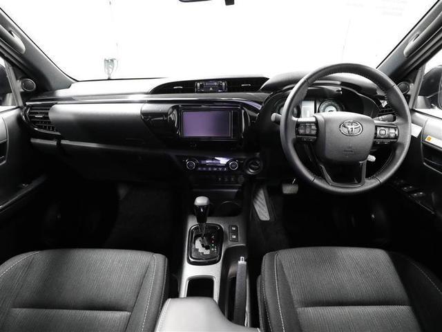 Z ブラックラリーエディション トヨタ認定中古車 ワンオーナー ディーゼル 衝突被害軽減システム 4WD LEDヘッドランプ フルセグ DVD再生 ミュージックプレイヤー接続可 バックカメラ スマートキー メモリーナビ ETC(7枚目)