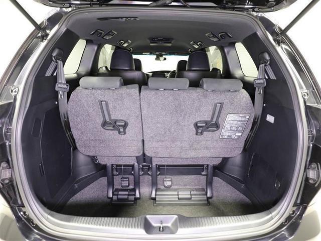アエラス プレミアム トヨタ認定中古車 ワンオーナー 衝突被害軽減システム 9インチTCナビ 12.1型後席モニター リヤオートエアコン 両側電動スライド LEDヘッドランプ フルセグ DVD再生 バックカメラ(9枚目)