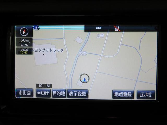 トヨタ アクア G メモリーナビ ETC