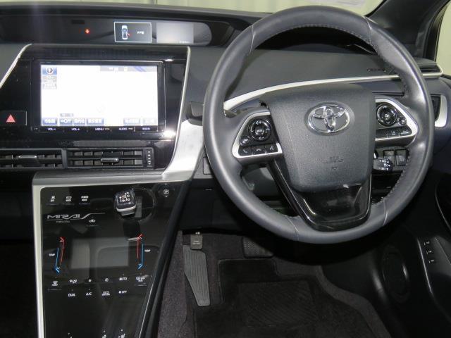 トヨタ MIRAI ベースグレード ドライブレコーダー クリアランスソナー