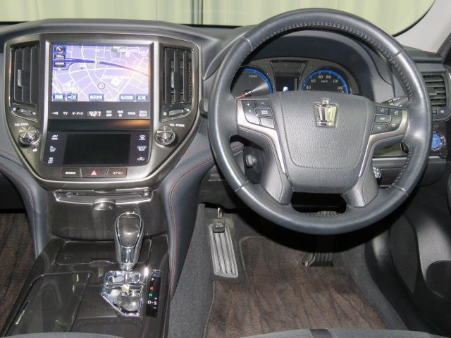 トヨタ クラウンハイブリッド アスリートS スパッタリング塗装アルミホイール HIDヘッド