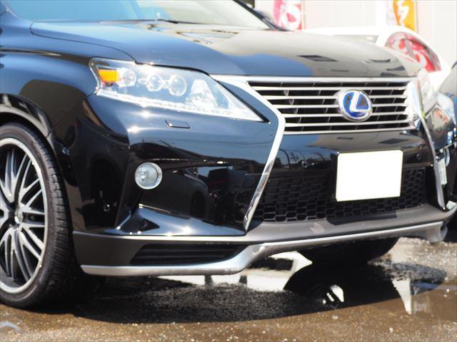 レクサス RX RX450h バージョンLテイン車高調22AWフルエアロ革