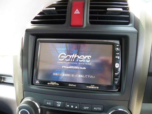ホンダ CR-V ZL  ワンオーナー禁煙車 フルセグHDDナビDVD再生機能